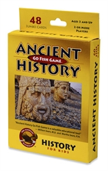 Ancient History - Go Fish Game - Exodus Books
