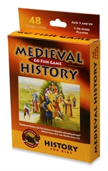 Medieval History - Go Fish Game - Exodus Books