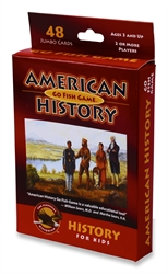 American History - Go Fish Game - Exodus Books
