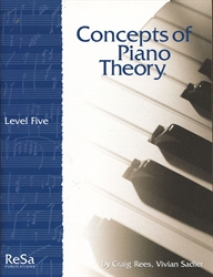 Concepts of Piano Theory - Level 5