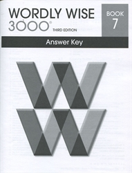 Wordly Wise 3000 Book 7 - Answer Key (old)