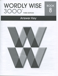 Wordly Wise 3000 Book 8 - Answer Key