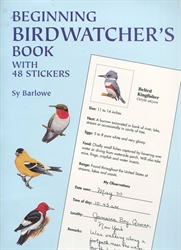Beginning Birdwatcher's Book with 48 Stickers