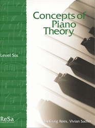 Concepts of Piano Theory - Level 6