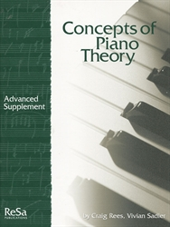 Concepts of Piano Theory - Advanced Supplement