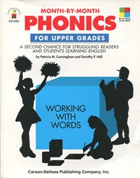 Month-By-Month Phonics for Upper Grades
