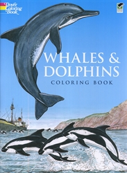 Whales and Dolphins - Coloring Book