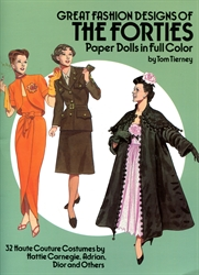 Great Fashions of the Fourties - Paper Dolls