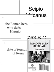 Famous Men of Rome - Flashcards