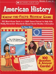 American History Know-the-Facts Review Game