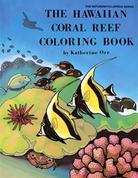 Hawaiian Coral Reef Coloring Book