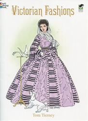 Victorian Fashions - Coloring Book