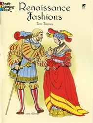 Renaissance Fashions - Coloring Book