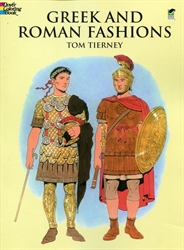 Greek and Roman Fashions - Coloring Book