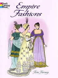 Empire Fashions - Coloring Book