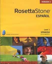 Rosetta Stone - Spanish Level 1 (Latin America)