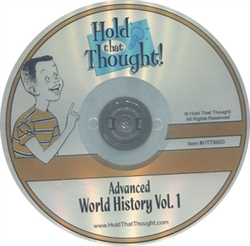 Advanced World History Vol. 1 - CD-ROM