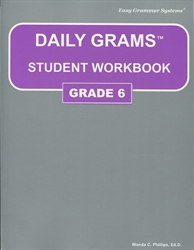 Daily Grams Grade 6 - Student Workbook