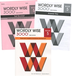 Wordly Wise 3000 Book 5 - Set