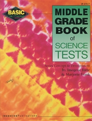 Middle Grade Book of Science Tests