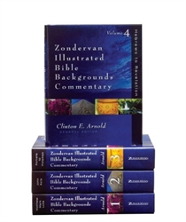 Zondervan Illustrated Bible Backgrounds Commentary - 4 Volumes