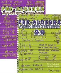 Teaching Textbooks Pre-Algebra - Workbook & Answer Key