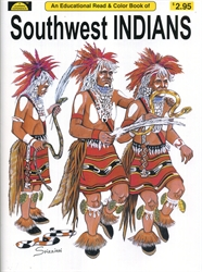 Southwest Indians - Coloring Book