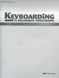 Keyboarding & Document Processing - Quiz & Test Book