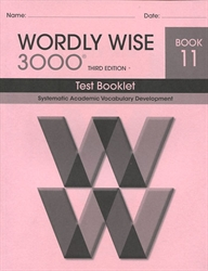 Wordly Wise 3000 Book 11 - Tests