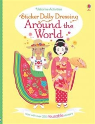 Sticker Dolly Dressing: Around the World