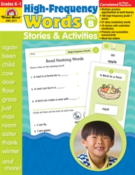 High-Frequency Words: Stories and Activities, Level B