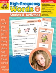 High-Frequency Words: Stories and Activities, Level C