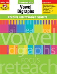 Intermediate Phonics Intervention Centers: Vowel Digraphs