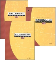 Saxon Math 76 - Homeschool Kit