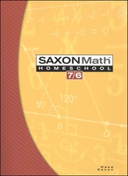 Saxon Math 76 - Student Textbook