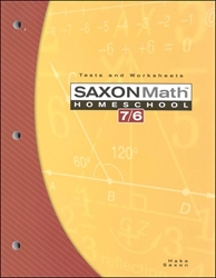 Saxon Math 76 - Tests and Worksheets