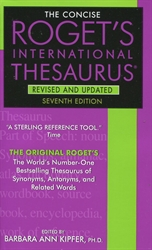 Concise Roget's International Thesaurus