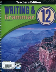 Writing & Grammar 12 - Teacher Edition with CD