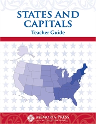 States & Capitals - Teacher Guide