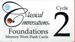 Classical Conversations Foundations Cycle 2 - Flashcards