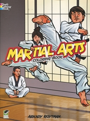 Martial Arts - Coloring Book