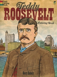 Teddy Roosevelt Coloring Book - Coloring Books