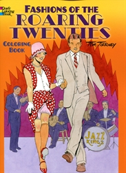 Fashions of the Roaring Twenties - Coloring Book
