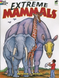 Extreme Mammals - Coloring Book