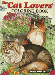 Cat Lovers - Coloring Book