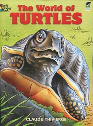 World of Turtles - Coloring Book
