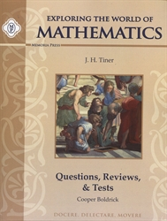 Exploring the World of Mathematics - Questions, Reviews, & Tests