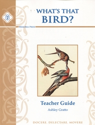 What's That Bird? - Teacher Guide