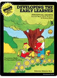 Developing the Early Learner Level 3