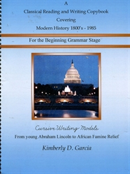 Classical Reading and Writing Covering Modern History 1800s-1985